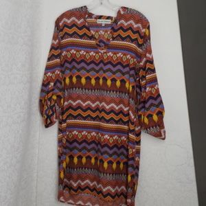 Almost famous tunic/dress XL
